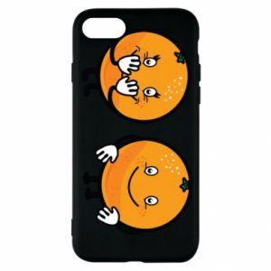 Etui na iPhone SE 2020 Wesołe pomarańcze
