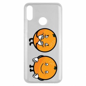 Etui na Huawei Y9 2019 Wesołe pomarańcze