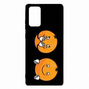 Etui na Samsung Note 20 Wesołe pomarańcze