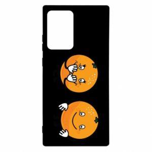 Etui na Samsung Note 20 Ultra Wesołe pomarańcze