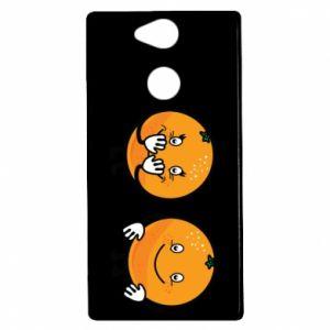 Etui na Sony Xperia XA2 Wesołe pomarańcze