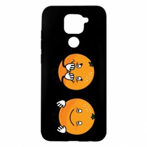 Etui na Xiaomi Redmi Note 9/Redmi 10X Wesołe pomarańcze