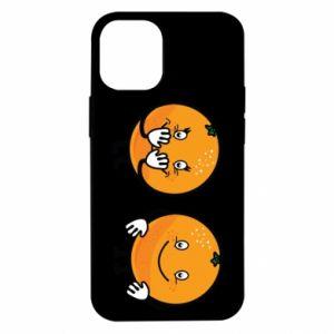 Etui na iPhone 12 Mini Wesołe pomarańcze