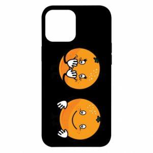 Etui na iPhone 12 Pro Max Wesołe pomarańcze
