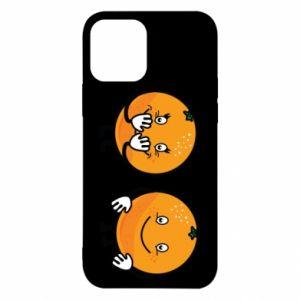 Etui na iPhone 12/12 Pro Wesołe pomarańcze