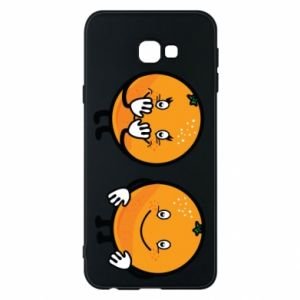 Etui na Samsung J4 Plus 2018 Wesołe pomarańcze