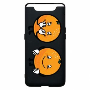 Phone case for Samsung A80 Cheerful Oranges