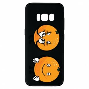 Phone case for Samsung S8 Cheerful Oranges - PrintSalon