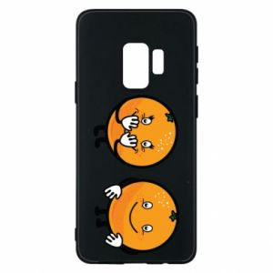 Phone case for Samsung S9 Cheerful Oranges - PrintSalon