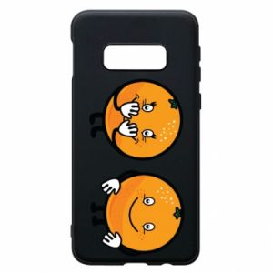 Phone case for Samsung S10e Cheerful Oranges - PrintSalon