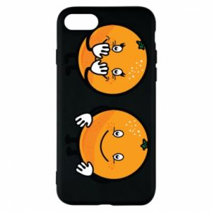 Phone case for iPhone 7 Cheerful Oranges - PrintSalon