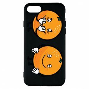 Etui na iPhone 7 Wesołe pomarańcze