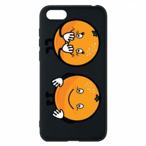 Phone case for Huawei Y5 2018 Cheerful Oranges - PrintSalon