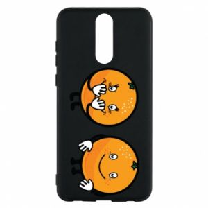 Phone case for Huawei Mate 10 Lite Cheerful Oranges - PrintSalon