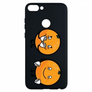 Phone case for Huawei P Smart Cheerful Oranges - PrintSalon