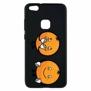 Etui na Huawei P10 Lite Wesołe pomarańcze