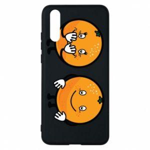 Etui na Huawei P20 Wesołe pomarańcze