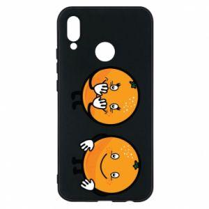 Etui na Huawei P20 Lite Wesołe pomarańcze