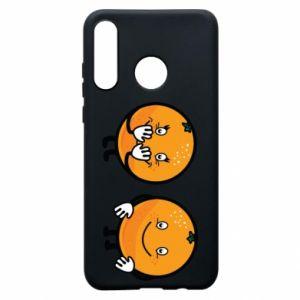 Etui na Huawei P30 Lite Wesołe pomarańcze