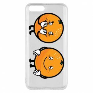 Etui na Xiaomi Mi6 Wesołe pomarańcze