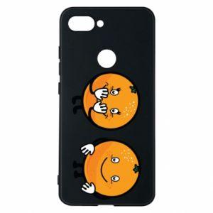 Etui na Xiaomi Mi8 Lite Wesołe pomarańcze