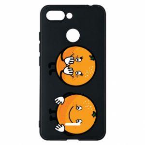 Etui na Xiaomi Redmi 6 Wesołe pomarańcze