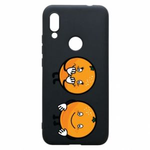 Phone case for Xiaomi Redmi 7 Cheerful Oranges - PrintSalon