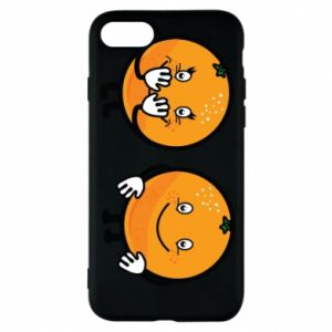Phone case for iPhone 8 Cheerful Oranges - PrintSalon