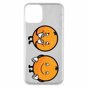 Etui na iPhone 11 Wesołe pomarańcze