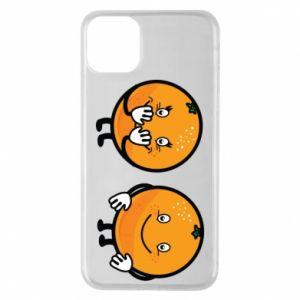 Etui na iPhone 11 Pro Max Wesołe pomarańcze