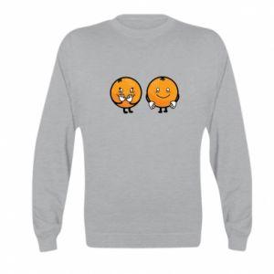 Bluza dziecięca Wesołe pomarańcze