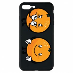 Phone case for iPhone 8 Plus Cheerful Oranges - PrintSalon