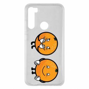 Etui na Xiaomi Redmi Note 8 Wesołe pomarańcze