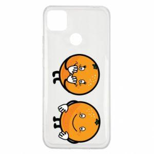 Etui na Xiaomi Redmi 9c Wesołe pomarańcze