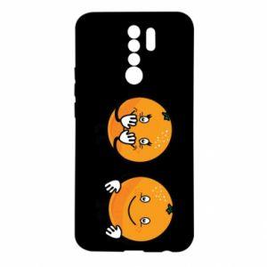 Etui na Xiaomi Redmi 9 Wesołe pomarańcze