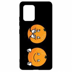 Etui na Samsung S10 Lite Wesołe pomarańcze
