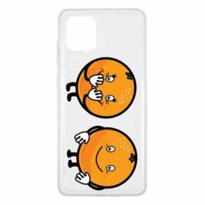 Etui na Samsung Note 10 Lite Wesołe pomarańcze
