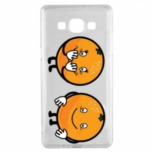 Etui na Samsung A5 2015 Wesołe pomarańcze
