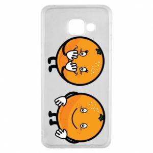 Etui na Samsung A3 2016 Wesołe pomarańcze