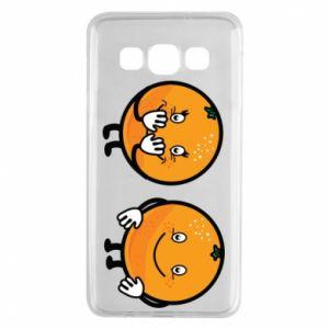 Etui na Samsung A3 2015 Wesołe pomarańcze