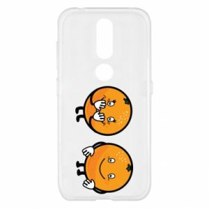 Etui na Nokia 4.2 Wesołe pomarańcze