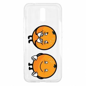 Etui na Nokia 2.3 Wesołe pomarańcze