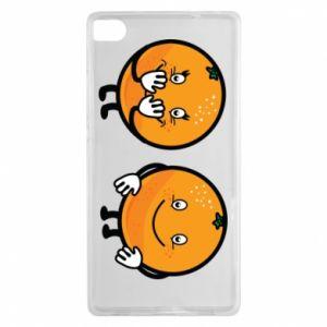 Etui na Huawei P8 Wesołe pomarańcze