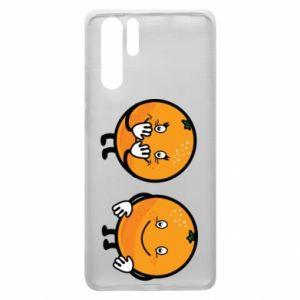 Etui na Huawei P30 Pro Wesołe pomarańcze