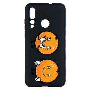 Etui na Huawei Nova 4 Wesołe pomarańcze