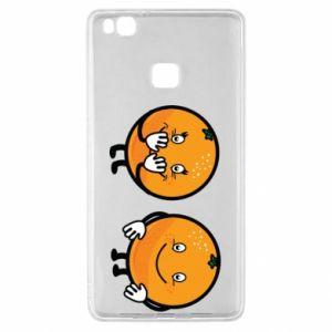Etui na Huawei P9 Lite Wesołe pomarańcze