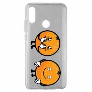 Etui na Huawei Honor 10 Lite Wesołe pomarańcze