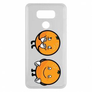 Etui na LG G6 Wesołe pomarańcze