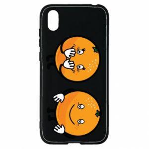 Etui na Huawei Y5 2019 Wesołe pomarańcze