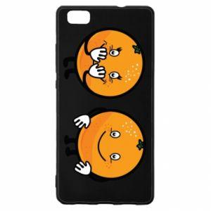 Etui na Huawei P 8 Lite Wesołe pomarańcze